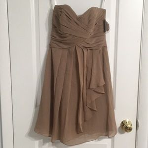 NWT. Chiffon Cocktail Dress